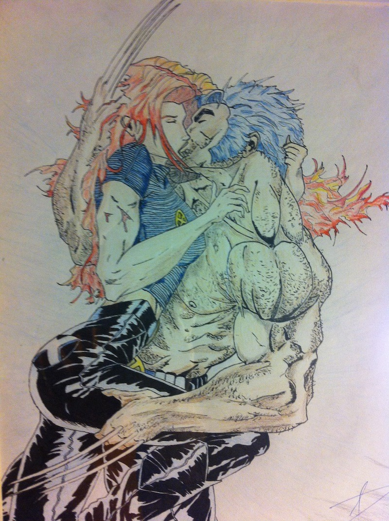 Wolverine and Rogue – 2006